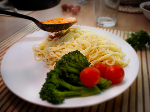 spagetti készítés - szakács oktatás